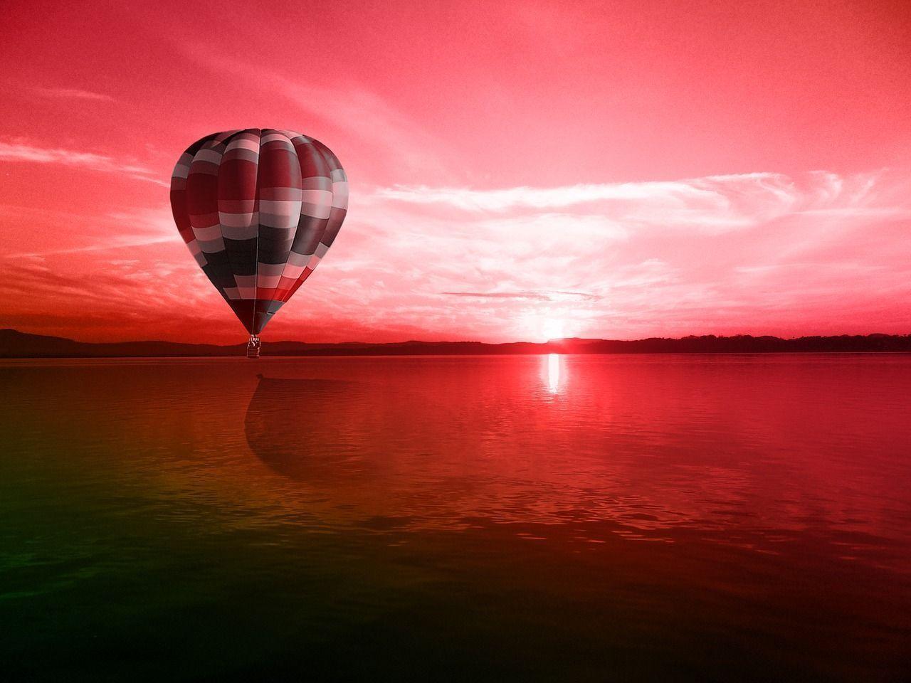 Montar en globo es un plan romántico y original que puedes vivir en Madrid