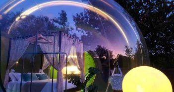 Hoteles burbuja de España para escapadas románticas