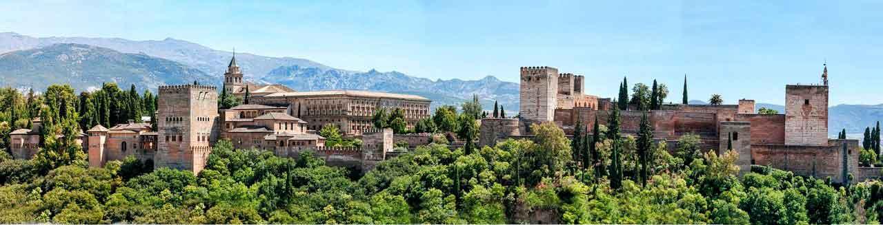 Viajar en España en pareja a Granada