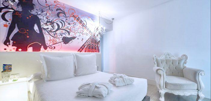 Mejores hoteles temáticos de Madrid para parejas